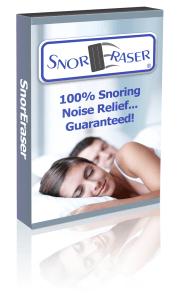 Anti snoring solution for sleeping